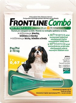 Frontline Combo spot on Dog S (2-10kg)