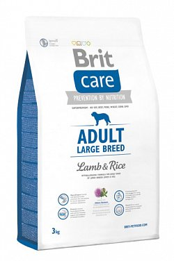 NEW Brit Care Adult Large Breed Lamb & Rice 3kg