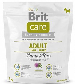 NEW Brit Care Adult Small Breed Lamb & Rice 1kg