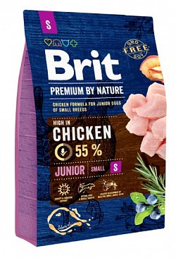 Brit Premium by Nature Junior S 3kg