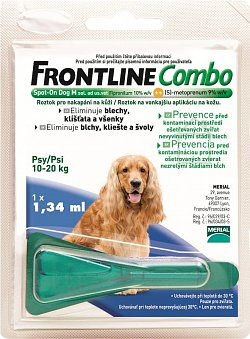 Frontline Combo spot on Dog M (10-20kg)