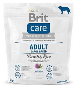 NEW Brit Care Adult Large Breed Lamb & Rice 1kg